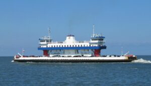Summer Fun on a Galveston Ferry Boat
