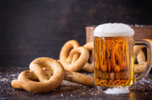 beer-and-pretzels-from-craft-beer-festival